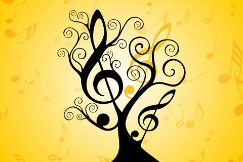 La Percepción en la Práctica: Un Cartel Inspirado por la Música