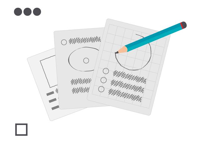 Propuesta de diseño: Realización de pruebas y bocetaje