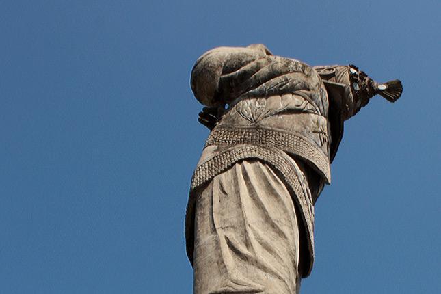 Escultura Monumento - Voladores de Papantla Veracruz