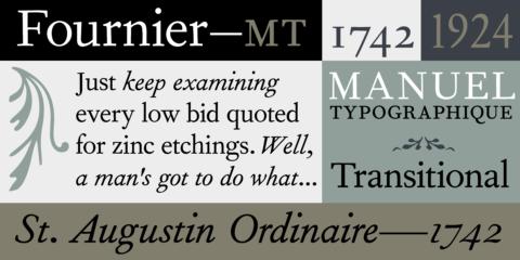 monotype fournier