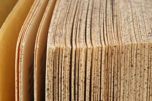 Libro impreso algo -vintage-
