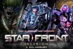 starfront collision start screen