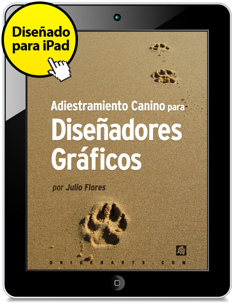 portada del libro adiestramiento canino para diseñadores gráficos