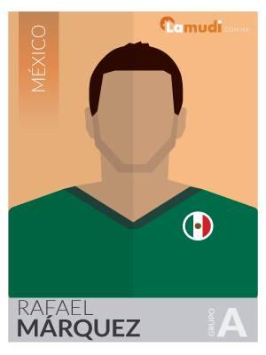 ilustracion futbolista rafael marquez